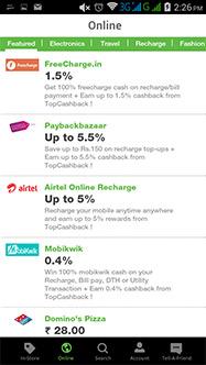 TopCashBack - Mobile Apps