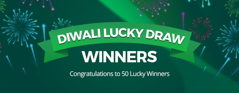 Diwali Lucky Draw Winners