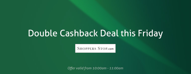 Double Cashback Deal of Friday