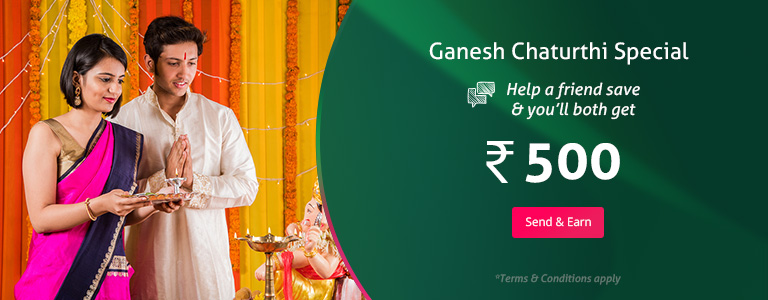 Ganesh Chaturthi Referral Bonus