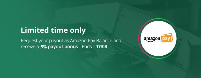 Payout Upgrade: 5% Bonus Cashback on Amazon Pay