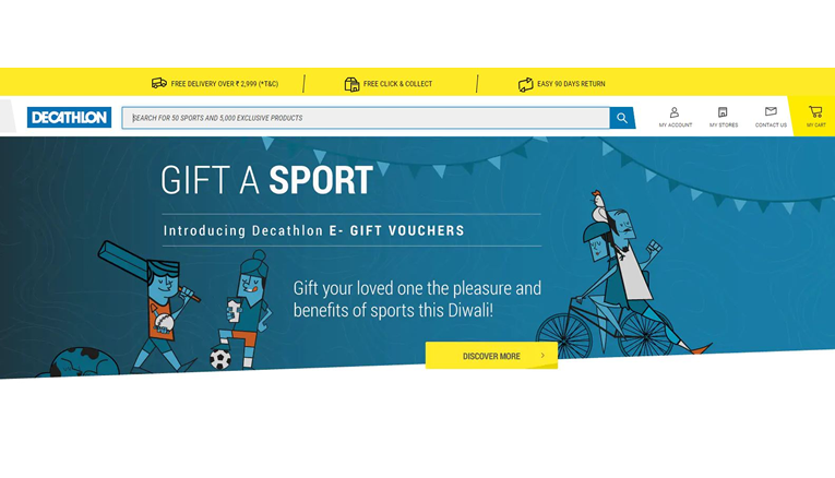 decathlon online Sale, Discount and cashback offers