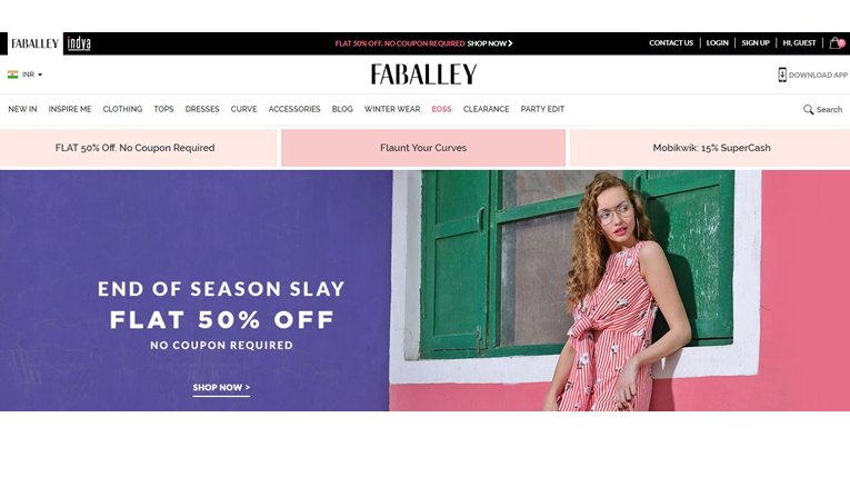 FabAlley Indya Online Shopping