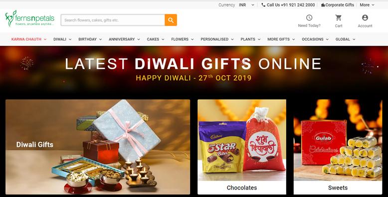 Ferns N Petals Diwali Offers