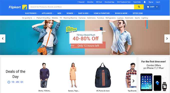 Flipkart Home TopCashback India