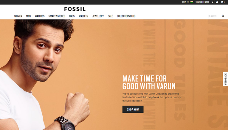 Fossil online store
