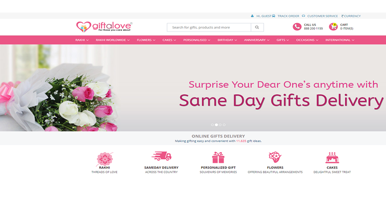 Giftalove-Buy gifts online