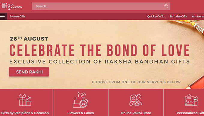 Indian Gift Portal Cashback Offers and Discounts on Gifts