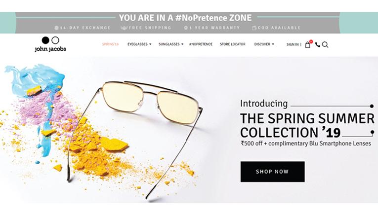 John Jacobs Eyewear online