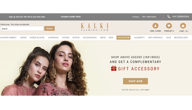 Kalki Fashion Online Offers