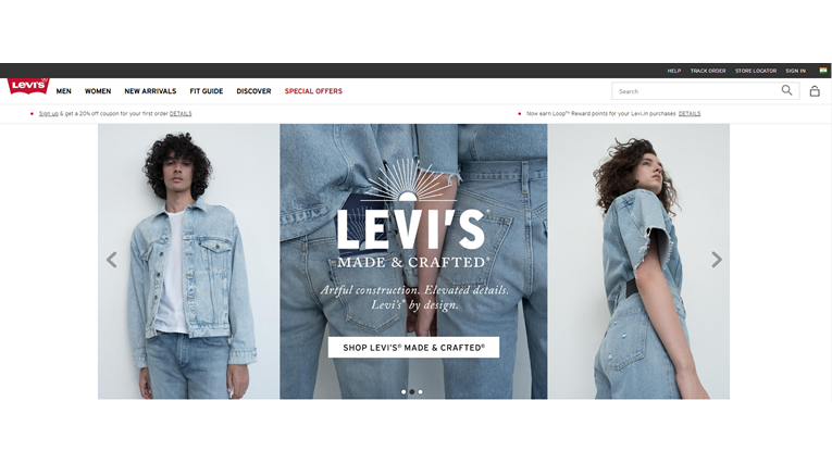 Original Levis Jeans, Jackets and Clothing