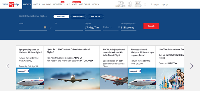Get the latest international flight booking deals and promo codes on TopCashback
