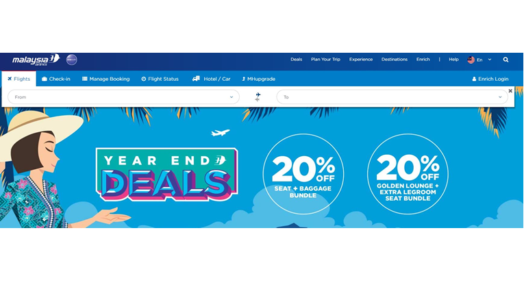 Malaysian Airlines coupons