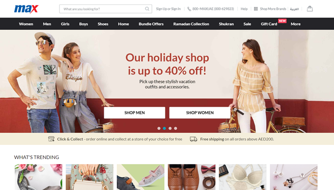 Discount coupons, deals and earn extra cashback TopCashback on Max Fashion