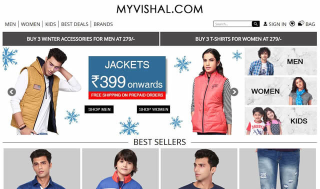 Find MyVishal discount coupons and save more highest cashback rates