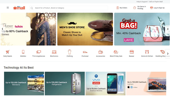 Shop using the latest Paytm Mall Offers on TopCashback to save money online