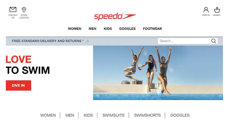 Speedo online Shopping