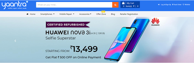 Yaantra online shopping