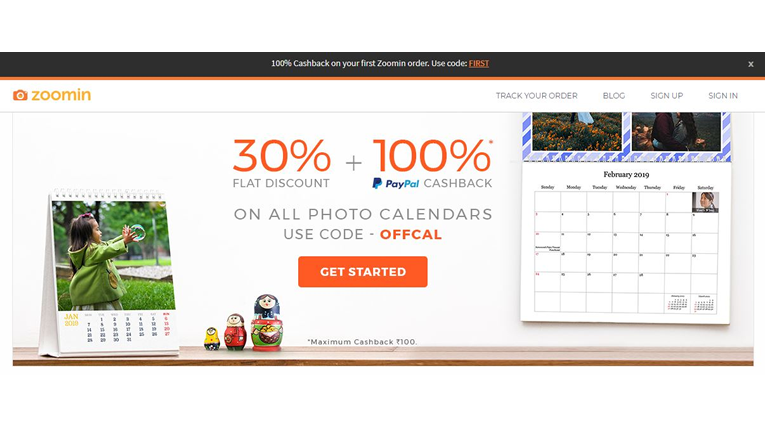 Zoomin coupons, online Sale, Discount and cashback offers