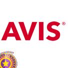 Avis Car Rental Square Logo