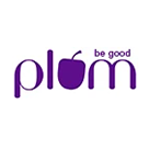Plum Goodness Square Logo