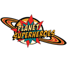 Planet Superheroes Square Logo