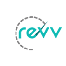 Revv Car Rental Square Logo