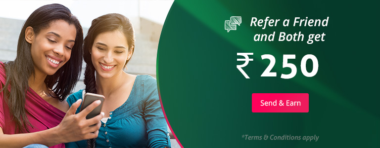 Refer Friends and earn Rs.250