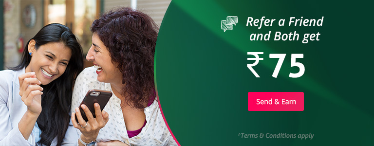 Refer and Earn Rs.75 both