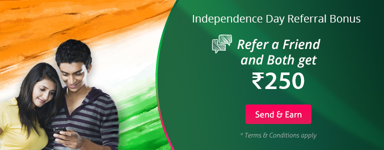 Independence Day Referral Bonus